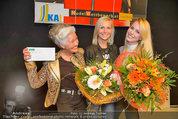 Model contest - Kaufpark Alt-Erlaa - Fr 28.02.2014 - die ersten 3 Pl�tze, Mitte: Siegerin Katja KIESLING204