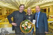 Model contest - Kaufpark Alt-Erlaa - Fr 28.02.2014 - Hubert WOLF, Siegerin Katja KIESLING, Alexander SAEL218