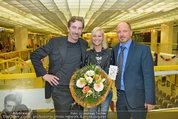 Model contest - Kaufpark Alt-Erlaa - Fr 28.02.2014 - Hubert WOLF, Siegerin Katja KIESLING, Alexander SAEL219