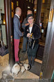 LisaFilm Fasching - FilmCafe - Di 04.03.2014 - Christiane H�RBIGER mit Hund Loriot, Gerhard T�TSCHINGER30