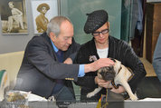 LisaFilm Fasching - FilmCafe - Di 04.03.2014 - Christiane H�RBIGER mit Hund Loriot, Otto SCHENK36