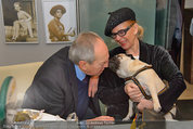 LisaFilm Fasching - FilmCafe - Di 04.03.2014 - Christiane H�RBIGER mit Hund Loriot, Otto SCHENK37