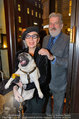 LisaFilm Fasching - FilmCafe - Di 04.03.2014 - Christiane H�RBIGER mit Hund Loriot, Gerhard T�TSCHINGER8