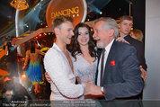 Dancing Stars - ORF Zentrum - Fr 07.03.2014 - Peter RAPP mit Tochter Roxanne, Vadim GARBUZOV16