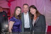 Promis against Cancer - Schreiberhaus - Sa 08.03.2014 - Claudia KRISTOVIC-BINDER mit Tochter Delphine und Freund Martin13