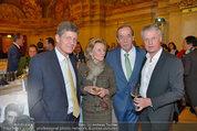 Vinaria Trophy 2014 - Palais Niederösterreich - Di 11.03.2014 - Kari HOHENLOHE, Heinz REITBAUER, Elisabeth G�RTLER, E. GOLDFUSS120