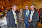Vinaria Trophy 2014 - Palais Niederösterreich - Di 11.03.2014 - Kari HOHENLOHE, Heinz REITBAUER, Elisabeth G�RTLER, E. GOLDFUSS121