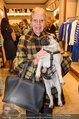 Ferragamo Store Opening - Ferragamo Shop - Mi 12.03.2014 - Christiane H�RBIGER mit Hund Loriot16