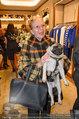 Ferragamo Store Opening - Ferragamo Shop - Mi 12.03.2014 - Christiane H�RBIGER mit Hund Loriot17