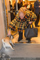 Ferragamo Store Opening - Ferragamo Shop - Mi 12.03.2014 - Christiane H�RBIGER mit Hund Loriot19