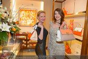 Ferragamo Store Opening - Ferragamo Shop - Mi 12.03.2014 - Eva WEGROSTEK, Amina DAGI49