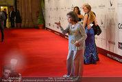 Filmball Vienna - red carpet - Rathaus - Fr 14.03.2014 - Claudia CARDINALE11