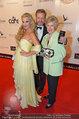 Filmball Vienna - red carpet - Rathaus - Fr 14.03.2014 - Waltraud HAAS, Markus und Leila STRAHL27