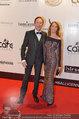 Filmball Vienna - red carpet - Rathaus - Fr 14.03.2014 - Peter KRAUS mit Ehefrau Ingrid46