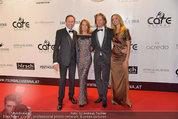 Filmball Vienna - red carpet - Rathaus - Fr 14.03.2014 - Peter KRAUS mit Ehefrau Ingrid, Mike KRAUS, Constanze SORHAGEN48
