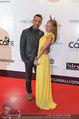 Filmball Vienna - red carpet - Rathaus - Fr 14.03.2014 - Ines und Fadi MERZA50