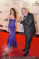Filmball Vienna - red carpet - Rathaus - Fr 14.03.2014 - Edi FINGER, Amina DAGI58
