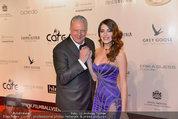 Filmball Vienna - red carpet - Rathaus - Fr 14.03.2014 - Edi FINGER, Amina DAGI59