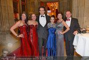 Filmball Vienna - das Fest - Rathaus - Fr 14.03.2014 - Pia BARESCH, Josef WINKLER, Ronny GUTHARC1