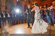 Filmball Vienna - das Fest - Rathaus - Fr 14.03.2014 - Albert FORTELL tanzt mit Barbara WUSSOW vor Fotografen121