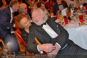 Filmball Vienna - das Fest - Rathaus - Fr 14.03.2014 - Karl MERKATZ mit Ehefrau Martha124