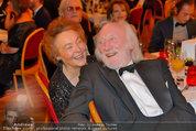 Filmball Vienna - das Fest - Rathaus - Fr 14.03.2014 - Karl MERKATZ mit Ehefrau Martha127