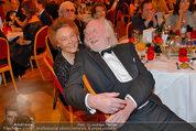 Filmball Vienna - das Fest - Rathaus - Fr 14.03.2014 - Karl MERKATZ mit Ehefrau Martha128