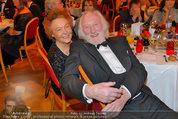 Filmball Vienna - das Fest - Rathaus - Fr 14.03.2014 - Karl MERKATZ mit Ehefrau Martha129