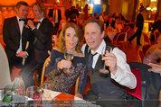 Filmball Vienna - das Fest - Rathaus - Fr 14.03.2014 - Peter KRAUS mit Ehefrau Ingrid143