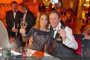 Filmball Vienna - das Fest - Rathaus - Fr 14.03.2014 - Peter KRAUS mit Ehefrau Ingrid144