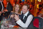 Filmball Vienna - das Fest - Rathaus - Fr 14.03.2014 - Peter KRAUS mit Ehefrau Ingrid145