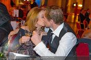Filmball Vienna - das Fest - Rathaus - Fr 14.03.2014 - Peter KRAUS mit Ehefrau Ingrid146