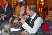 Filmball Vienna - das Fest - Rathaus - Fr 14.03.2014 - Peter KRAUS mit Ehefrau Ingrid147