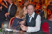 Filmball Vienna - das Fest - Rathaus - Fr 14.03.2014 - Peter KRAUS mit Ehefrau Ingrid148