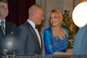 Filmball Vienna - das Fest - Rathaus - Fr 14.03.2014 - Daryl HANNAH, Oliver HEEMEYER171