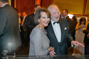 Filmball Vienna - das Fest - Rathaus - Fr 14.03.2014 - Karl MERKATZ, Claudia CARDINALE180