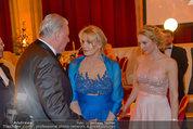 Filmball Vienna - das Fest - Rathaus - Fr 14.03.2014 - Edi FINGER, Daryl HANNAH, Erika SUESS194