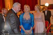 Filmball Vienna - das Fest - Rathaus - Fr 14.03.2014 - Edi FINGER, Daryl HANNAH, Erika SUESS195