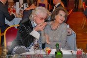 Filmball Vienna - das Fest - Rathaus - Fr 14.03.2014 - Reinhold BILGERI, Claudia CARDINALE25