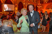 Filmball Vienna - das Fest - Rathaus - Fr 14.03.2014 - Waltraud HAAS, Peter KRAUS33