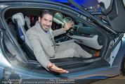 Re-Opening und BMW i8 Vorstellung - BMW Wien - Do 20.03.2014 - Clemens UNTERREINER im neuen BMW i8115