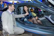 Re-Opening und BMW i8 Vorstellung - BMW Wien - Do 20.03.2014 - Clemens UNTERREINER, Anelia PESCHEV im neuen BMW i8116