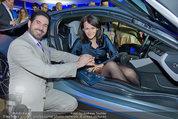 Re-Opening und BMW i8 Vorstellung - BMW Wien - Do 20.03.2014 - Clemens UNTERREINER, Anelia PESCHEV im neuen BMW i8117