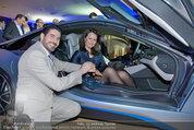 Re-Opening und BMW i8 Vorstellung - BMW Wien - Do 20.03.2014 - Clemens UNTERREINER, Anelia PESCHEV im neuen BMW i8118