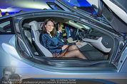 Re-Opening und BMW i8 Vorstellung - BMW Wien - Do 20.03.2014 - Anelia PESCHEV im neuen BMW i8119