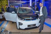 Re-Opening und BMW i8 Vorstellung - BMW Wien - Do 20.03.2014 - Manfred ZEHENDER mit BMW i3 (hat sich selber einen gekauft)120