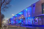 Re-Opening und BMW i8 Vorstellung - BMW Wien - Do 20.03.2014 - BMW Wien Au�enansicht, Architektur, Geb�ude2