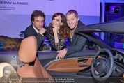 Re-Opening und BMW i8 Vorstellung - BMW Wien - Do 20.03.2014 - Manfred und Nelly BAUMANN, Gunther GILLIAN26