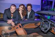 Re-Opening und BMW i8 Vorstellung - BMW Wien - Do 20.03.2014 - Manfred und Nelly BAUMANN, Gunther GILLIAN28