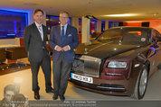 Re-Opening und BMW i8 Vorstellung - BMW Wien - Do 20.03.2014 - das neuestes ROLLS ROYCE Modell78
